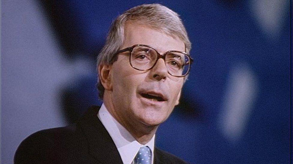 John Major, 1991