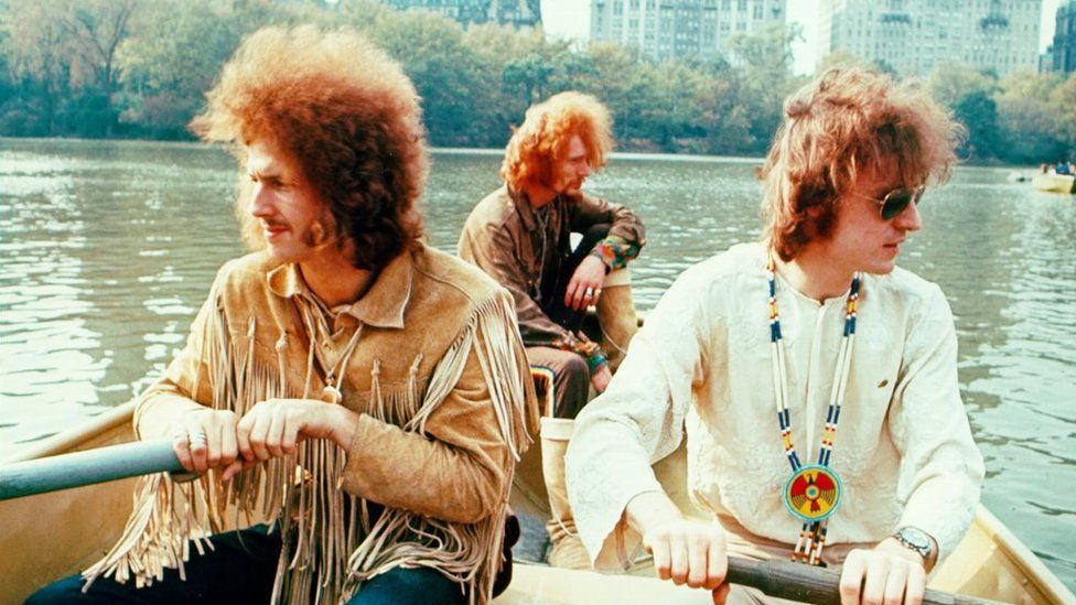 Eric Clapton, Ginger Baker and Jack Bruce