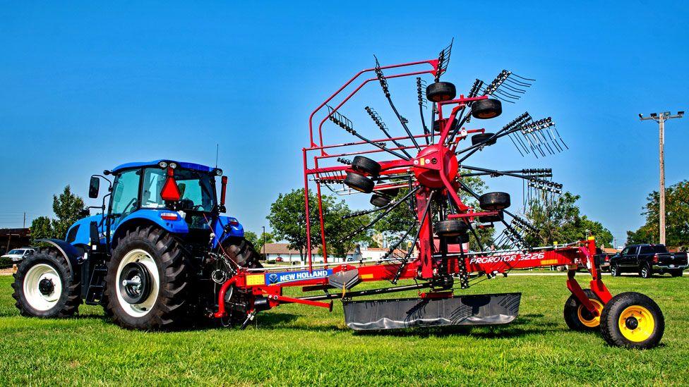Tractor in Kansas