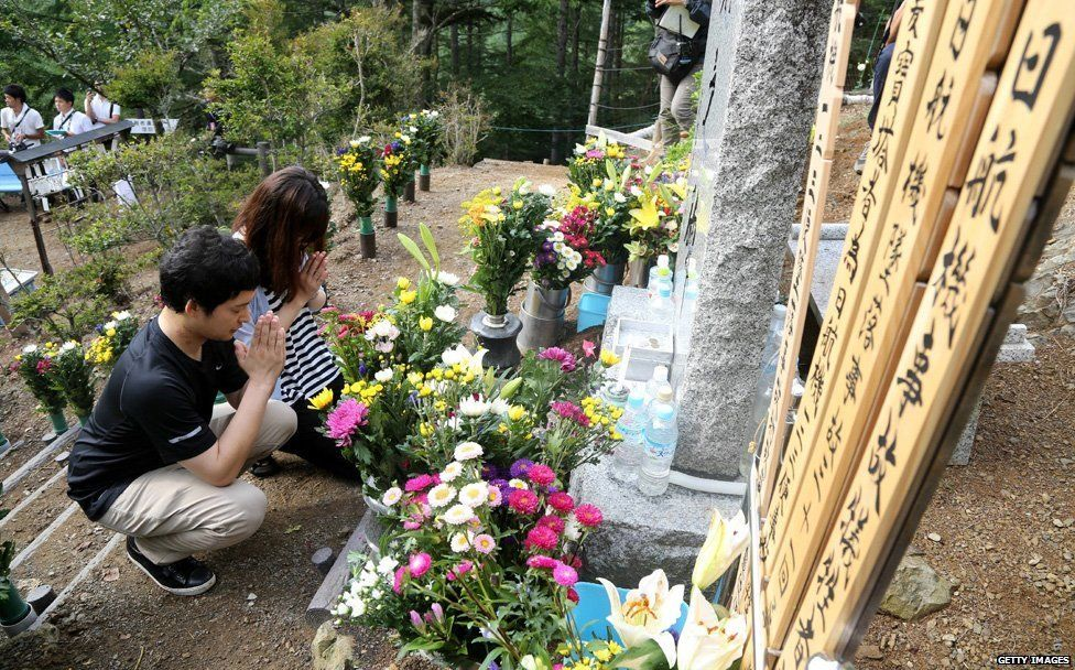 Thirtieth anniversary of Japan airliner crash