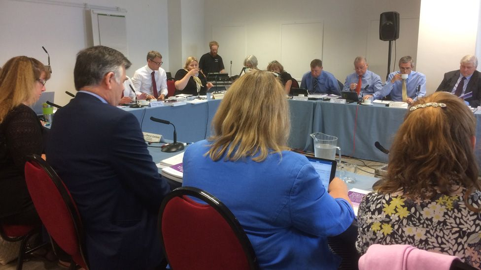 Donna Ockenden presented her report to a Betsi Cadwaladr board meeting on Thursday