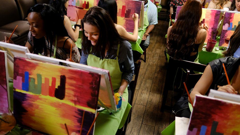 Paint Nite says it wants people to have fun while they paint