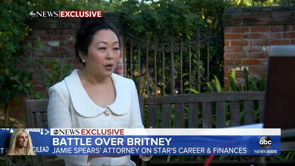 Screen grab of Vivian Thoreen on Good Morning America