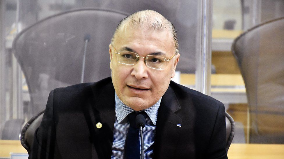 Albert Dickson, state representative of Pros party in Rio Grande do Norte, Brazil
