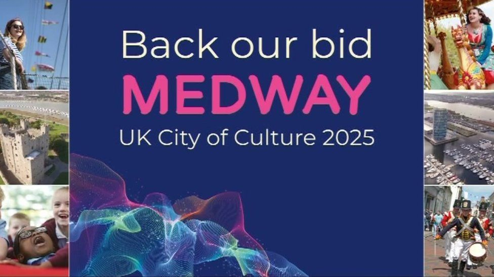 UK City of Culture 2025: Medway announces bid for honour