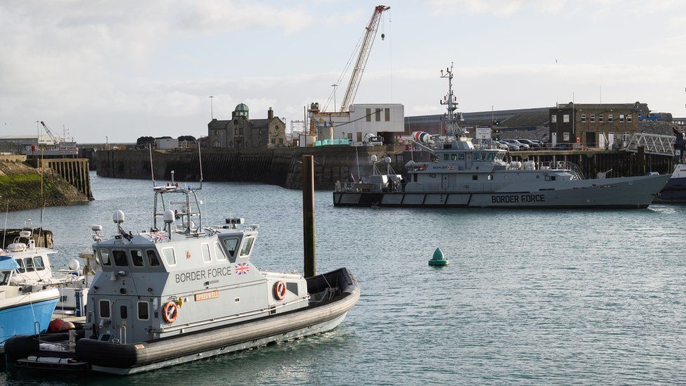 Border Force Cutter and patrol vessel