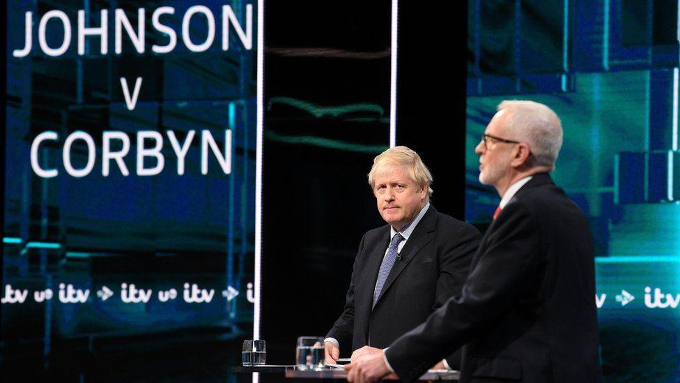 Boris Johnson and Jeremy Corbyn