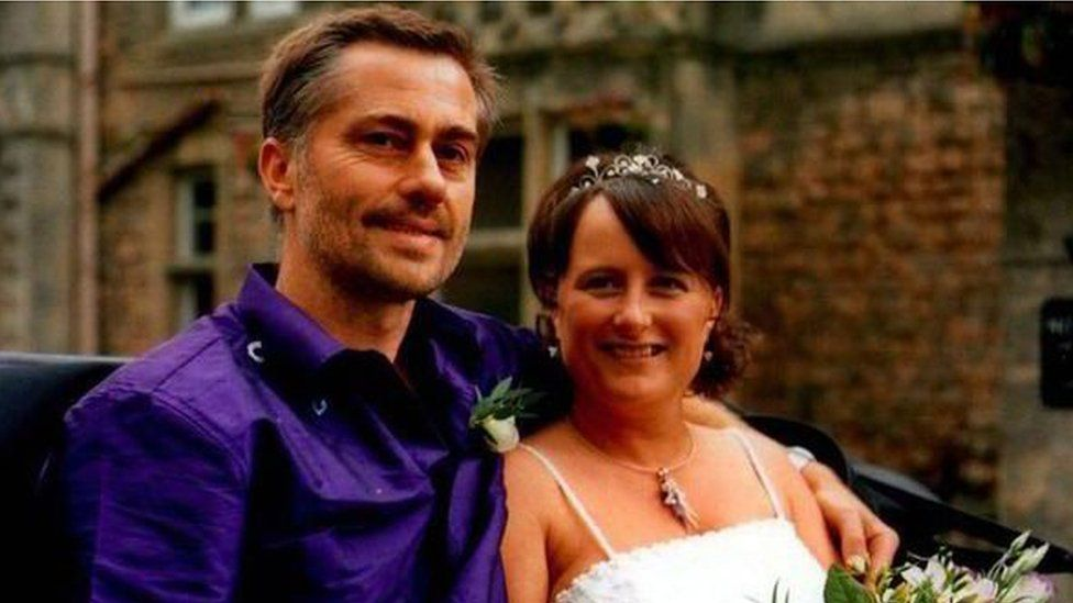 Martyn Uzzell and his wife Kate
