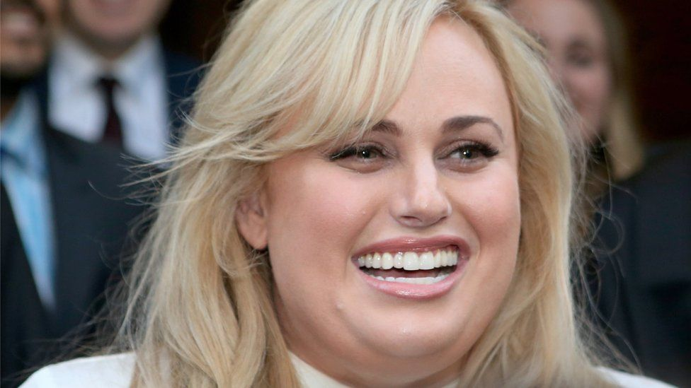 Rebel Wilson outside a Melbourne court last year