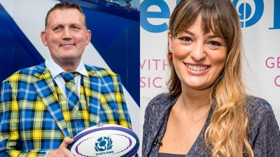 Doddie and Nicola