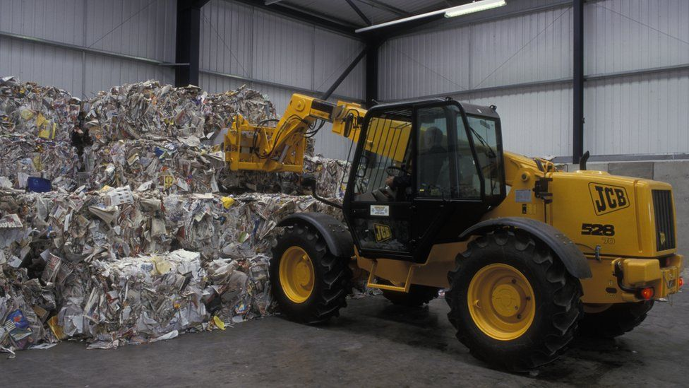 Recycling centre in Paisley