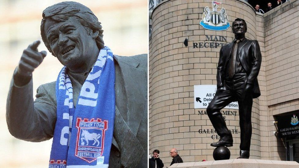 Bobby Robson statues