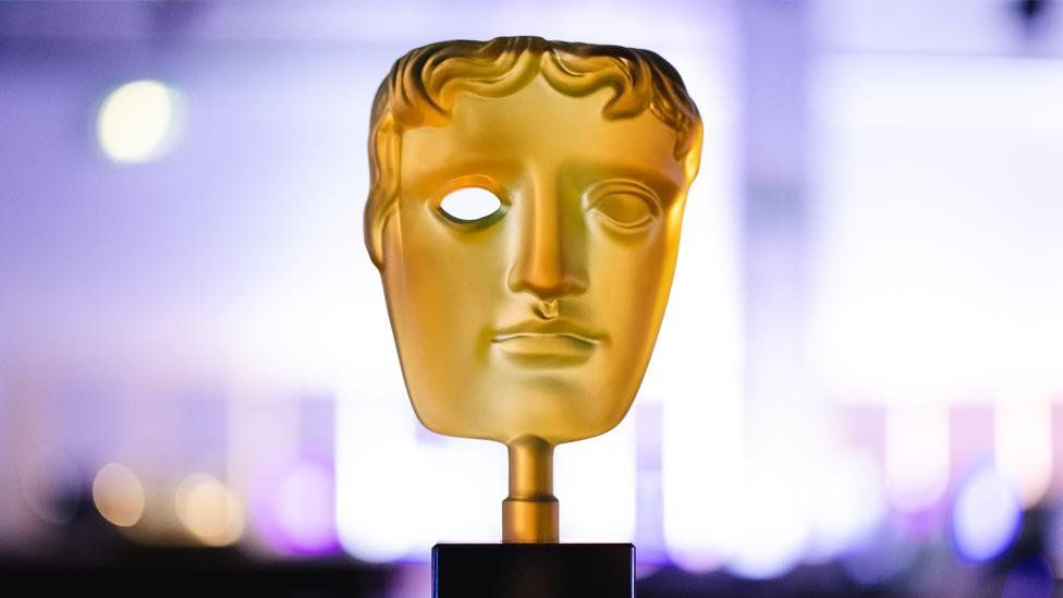Image of a Bafta award