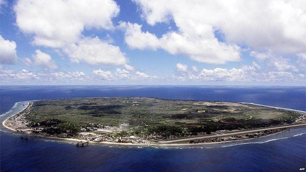 Pacific island of Nauru
