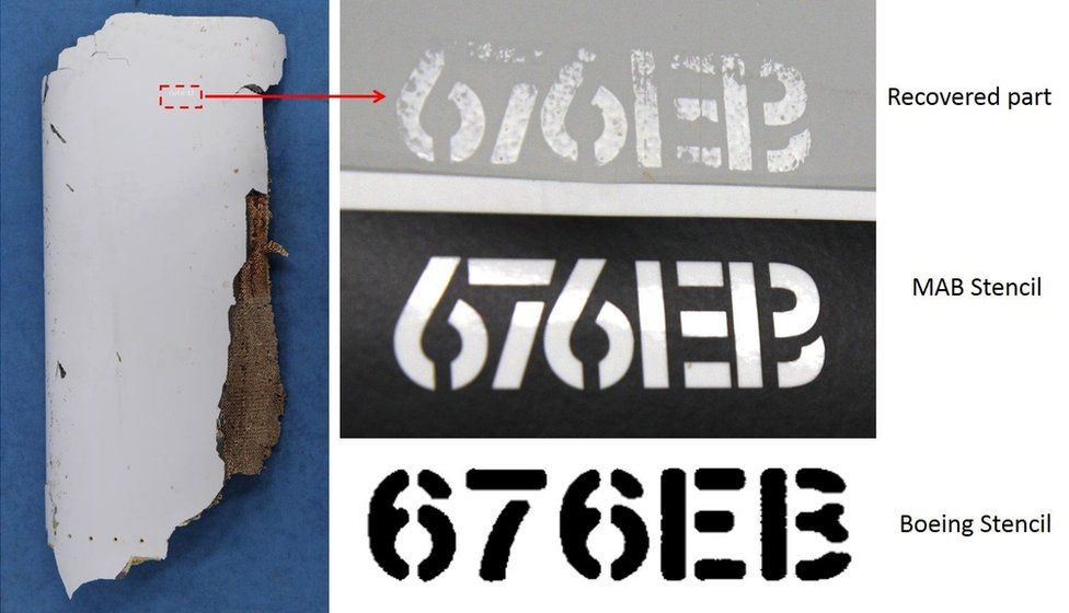 Flap track fairing part said to 'almost certainly' belong to MH370