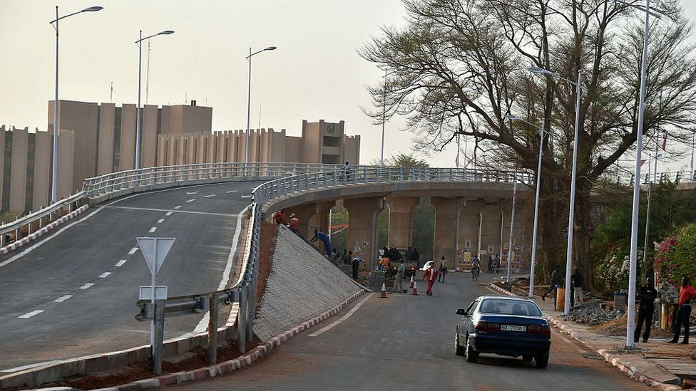 A road in Niamey