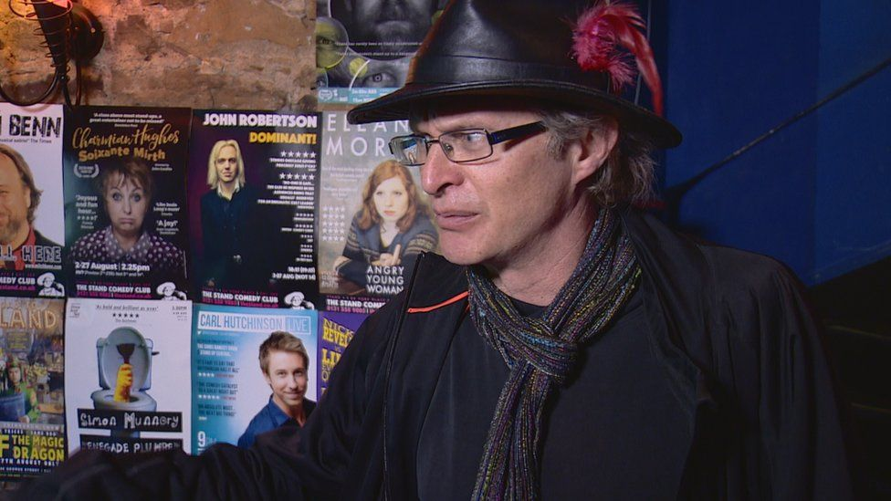 Simon Munnery has been appearing at the Fringe for 30 years