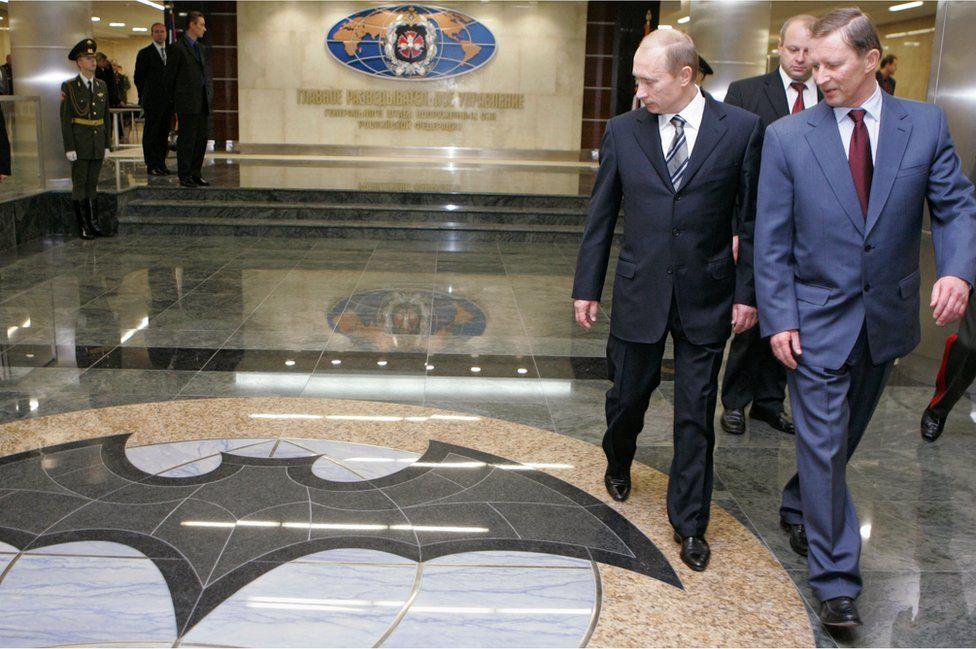 Vladimir Putin at GRU, Nov 06