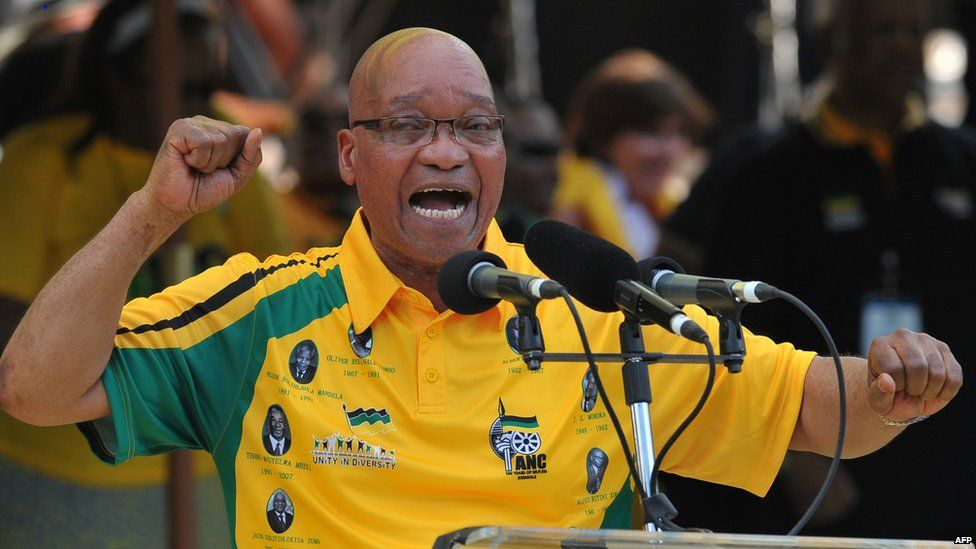 President Jacob Zuma, file 2012
