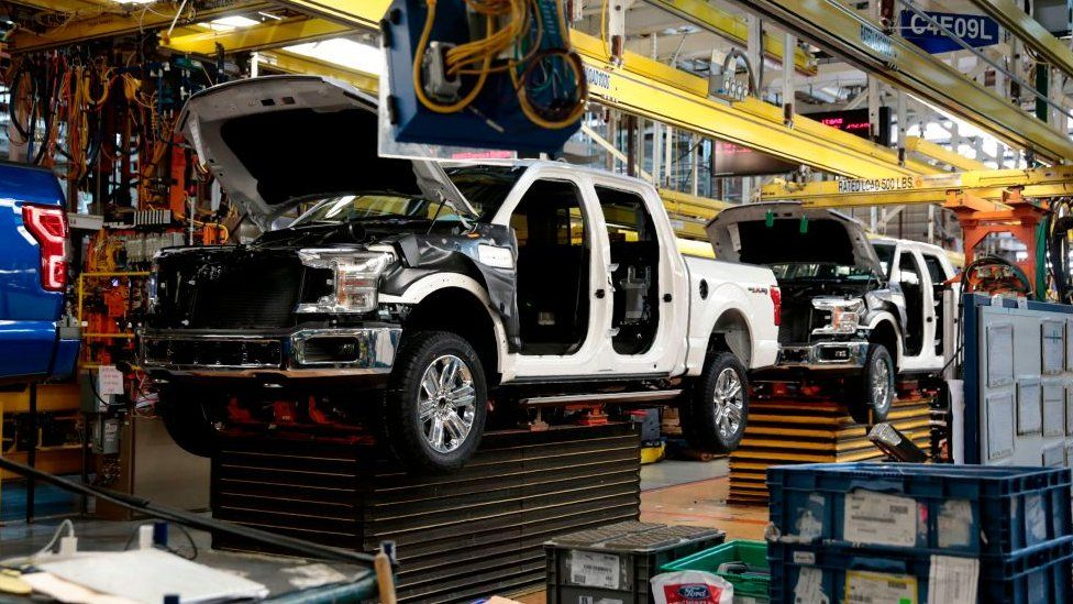 Ford factory in the US