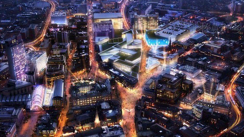 Sheffield Retail Quarter plans
