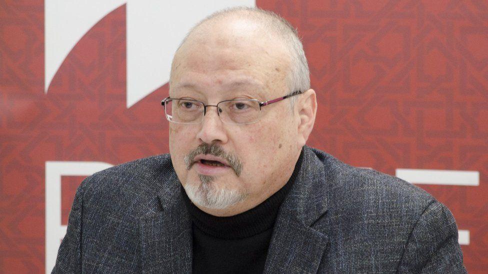 File photo of Jamal Khashoggi (21 March 2018)