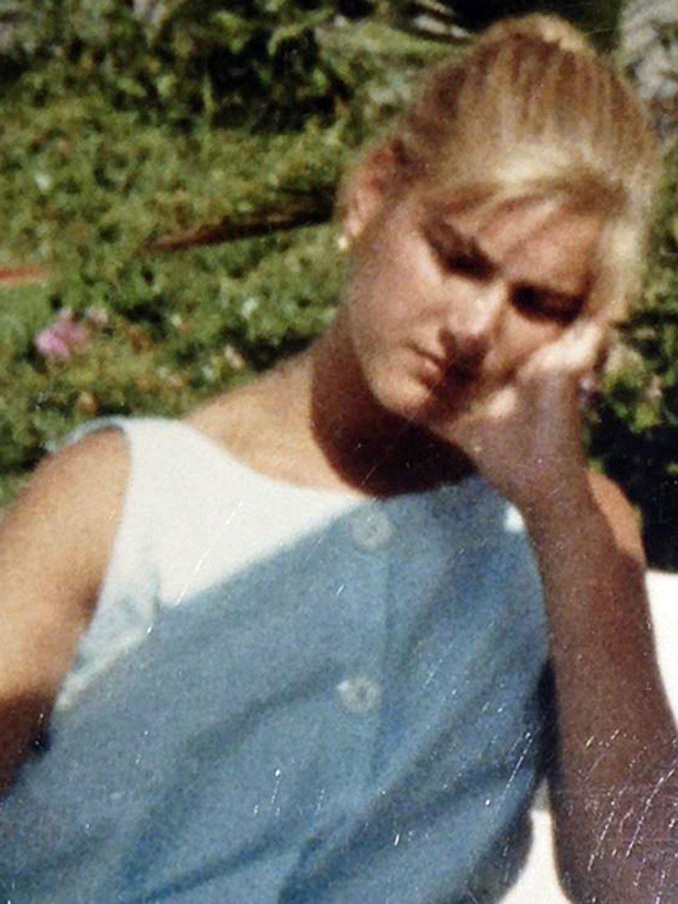Sylvia in her teens