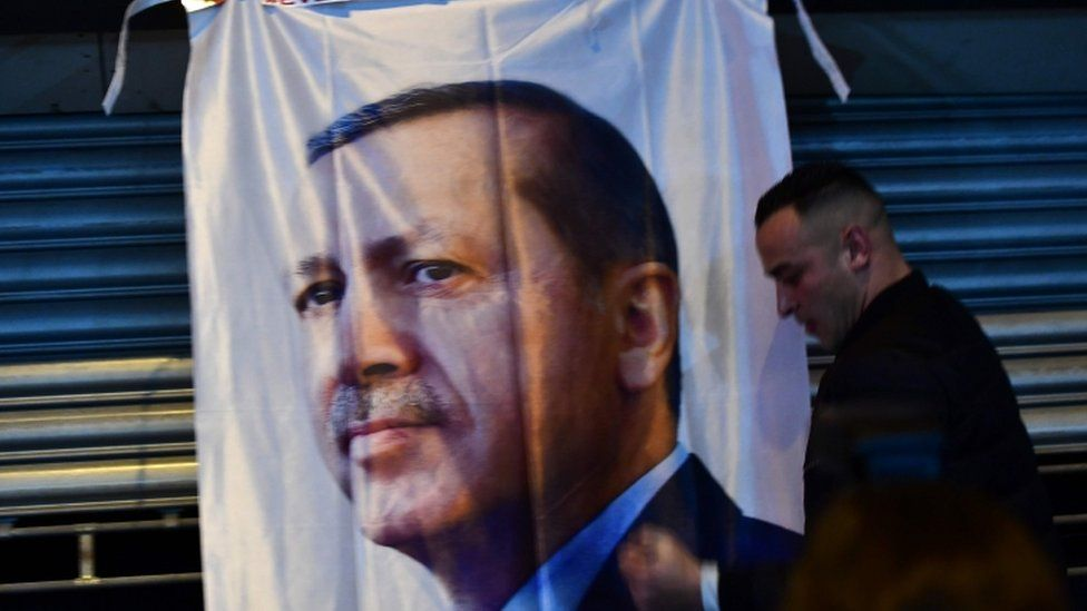 President Erdogan is hoping to win sweeping new powers