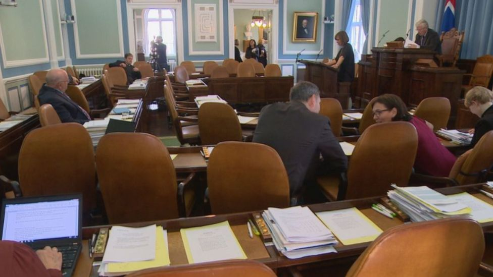 Iceland's parliament, 2017
