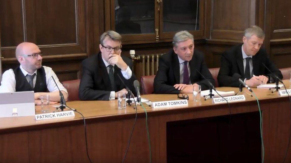 Committee meeting MSPs