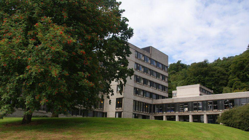 Stirling University campus