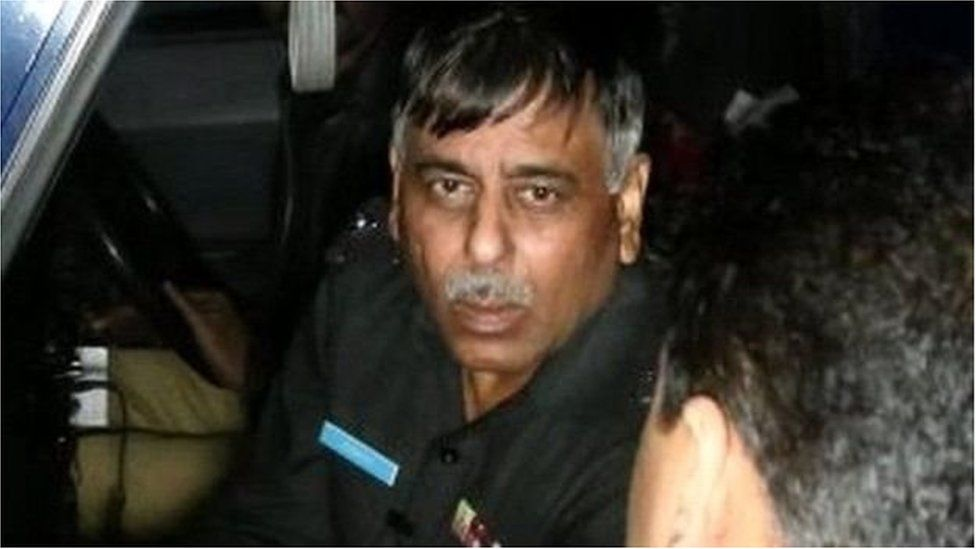 Senior Superintendent Rao Anwar in Karachi, January 2018