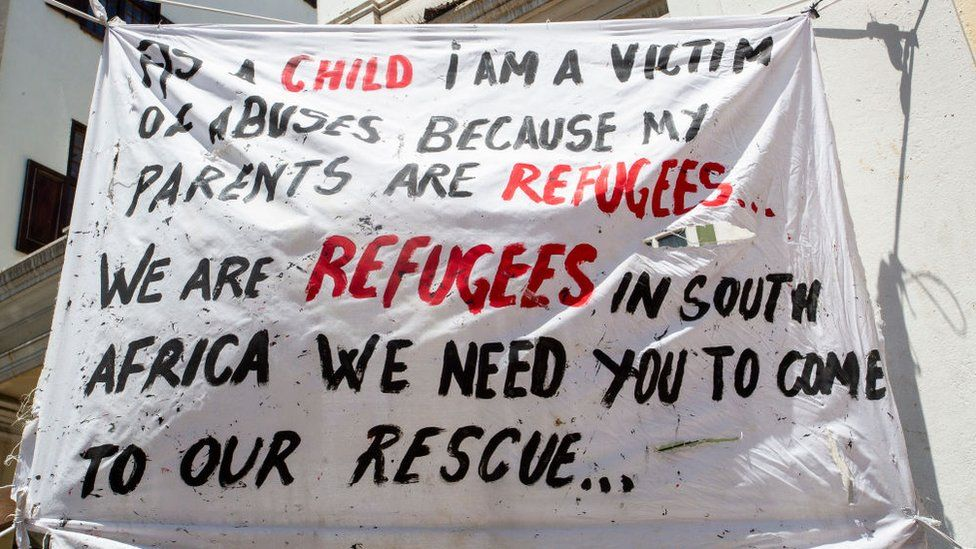 Refugees In South Africa Give Us A Place Where We Can Be Safe Bbc News