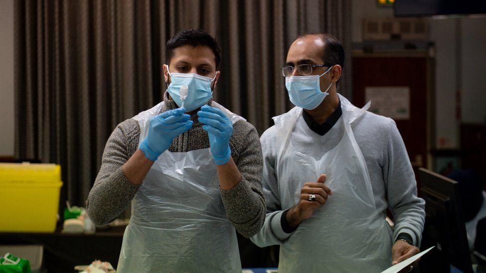 Doctors in the mosque