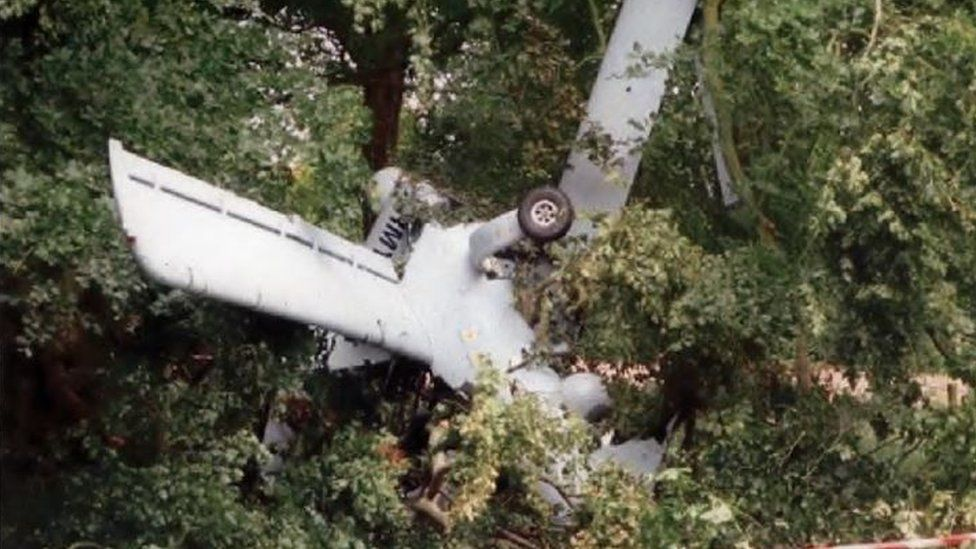 MoD drone crashed into tree near Aberporth, report reveals