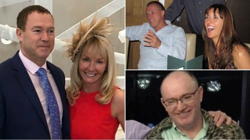 Kevin a Ruth Burke, Donald a Sharon Burke a Barry Burke