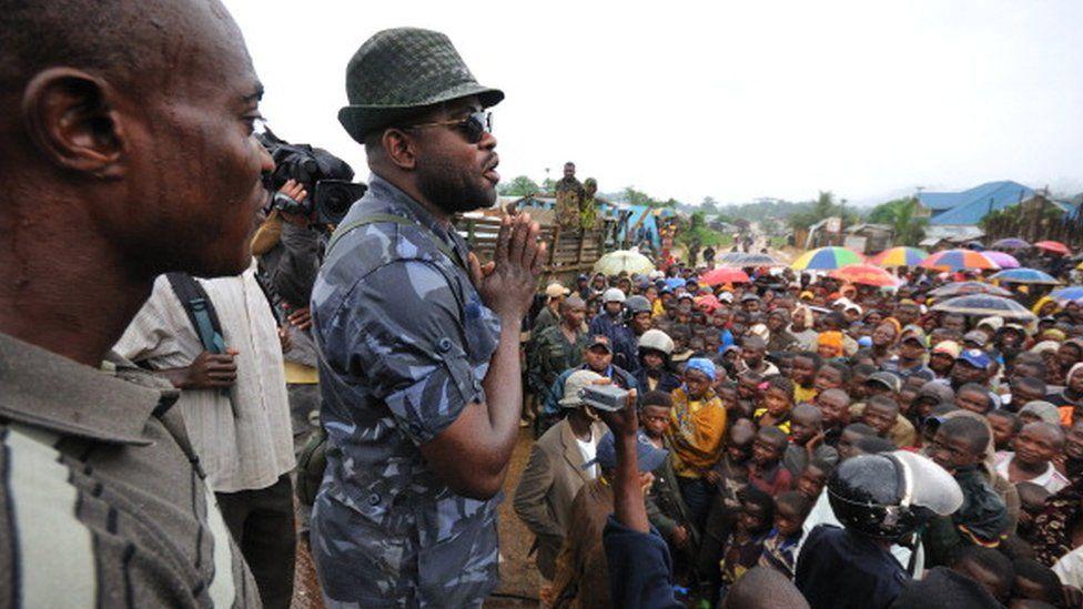 Ntabo Ntaberi Sheka pictured in 2011