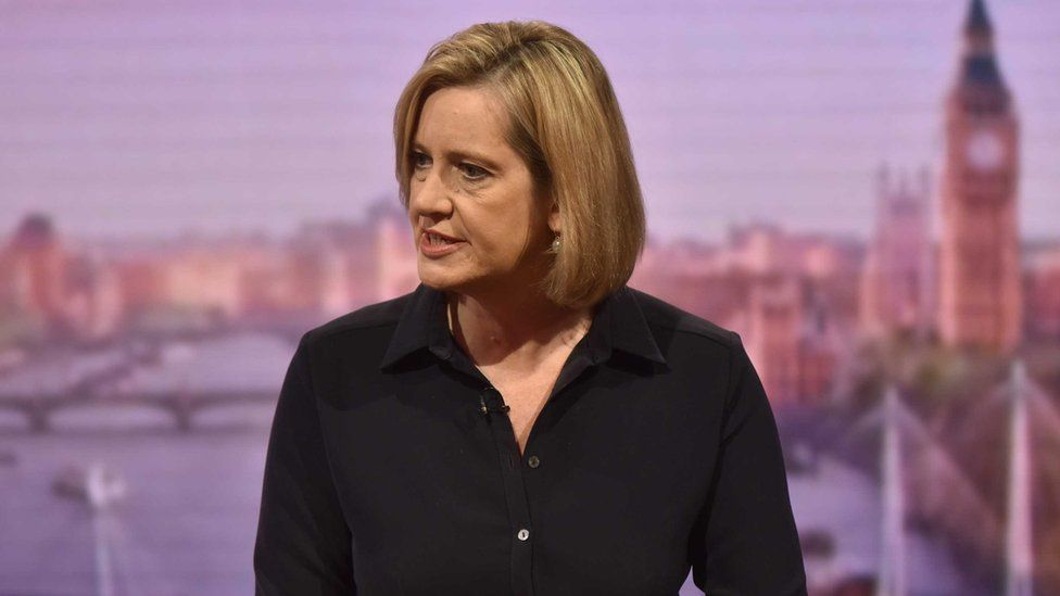 Amber Rudd on the Andrew Marr Show