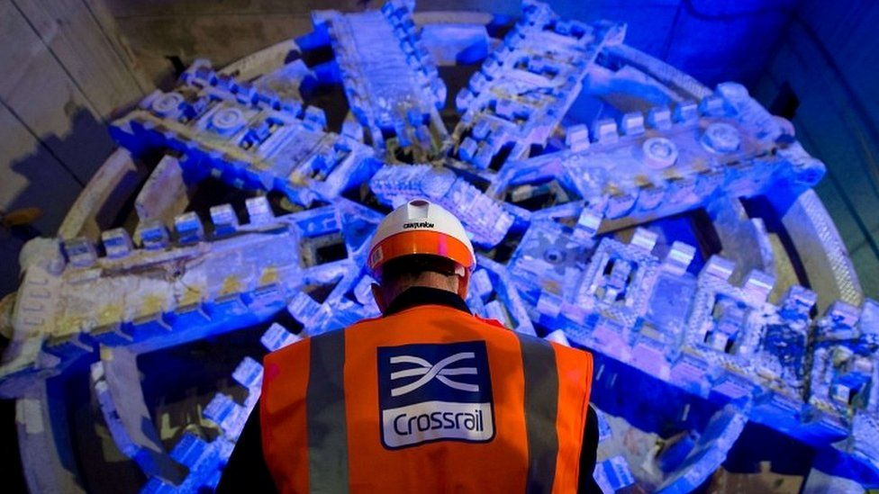 Crossrail construction worker
