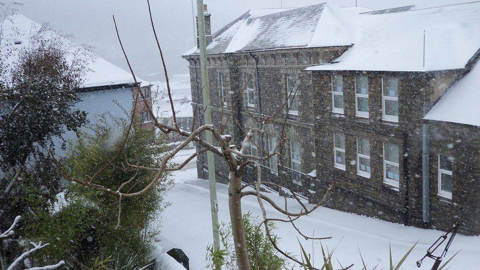 Old Town Hall in Pentre, Rhondda
