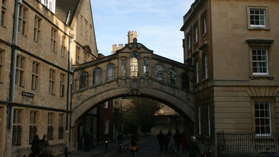 Hertford Bridge in New College Lane, Oxford