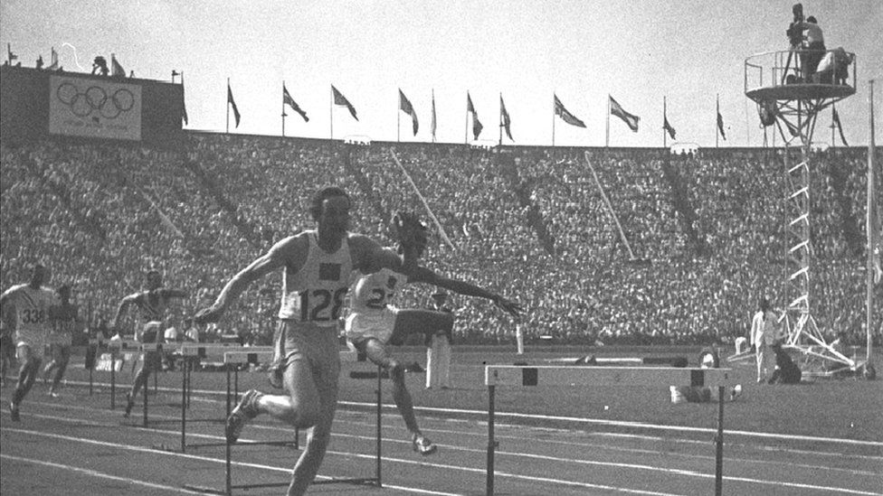 Athletes at the London Olympics in 1948