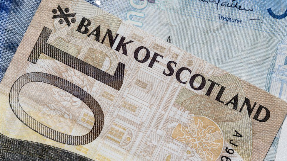 Bank of Scotland note