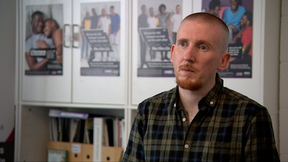Chief executive Ian Howley says since lockdown there has been a 44% increase in people contacting the LGBT Hero suicide prevention service
