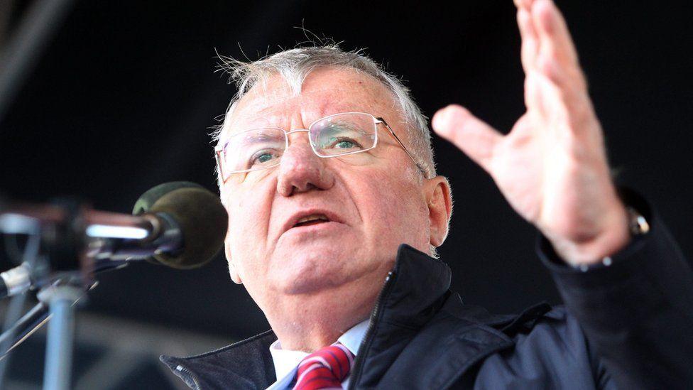 Serbian Radical Party leader Vojislav Seselj