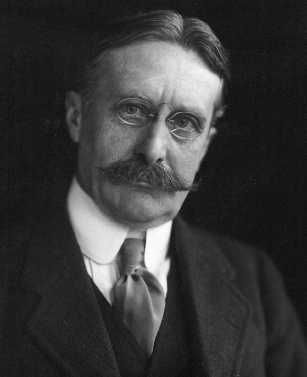 American businessman Harry Gordon Selfridge