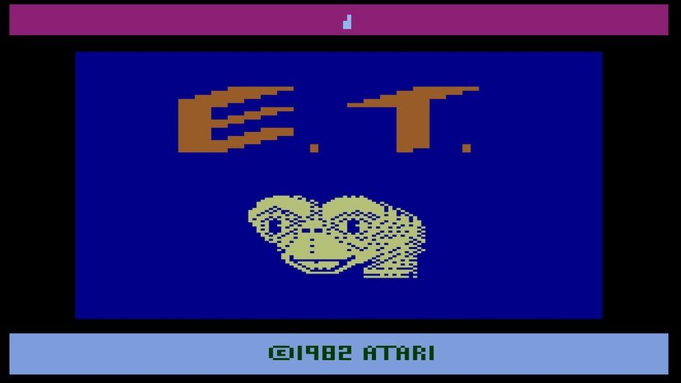 Screenshot from ET the video game