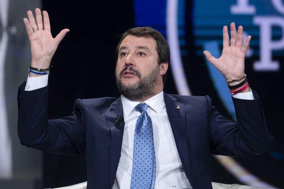 Matteo Salvini on Italian TV, 3 December 2019