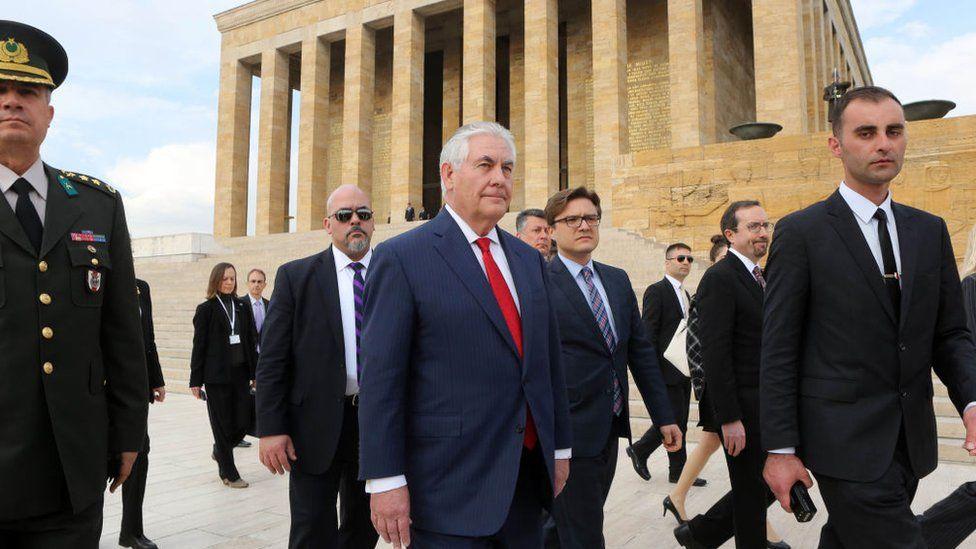 Tillerson in Turkey
