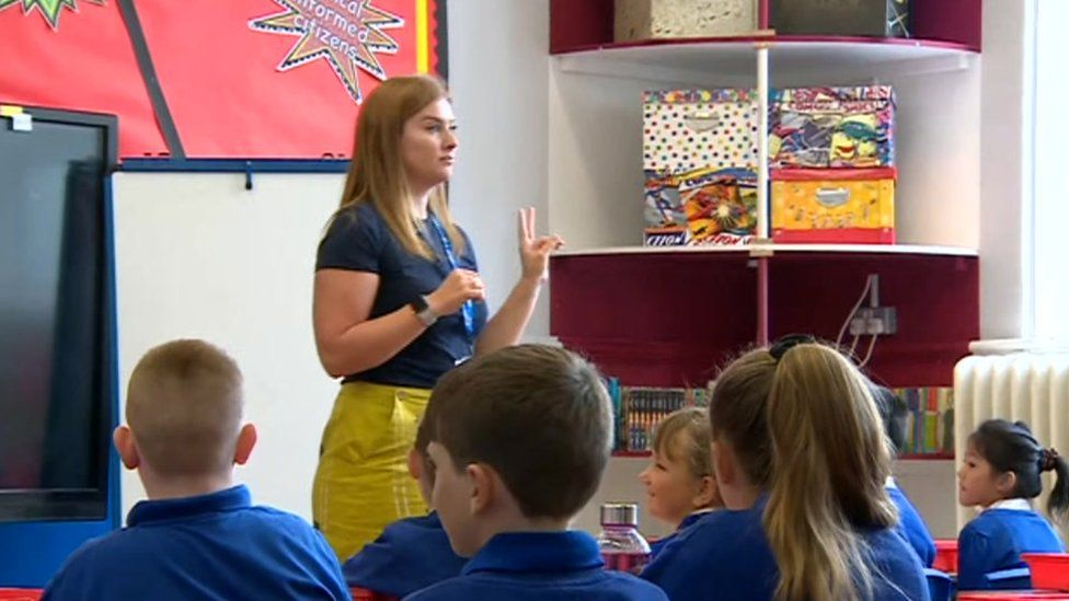 Class gets under way at Barry Primary School